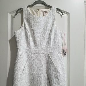 White and silver dress from Forever 21 NWT! Size M
